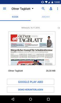 ot Oltner Tagblatt E-Paper poster
