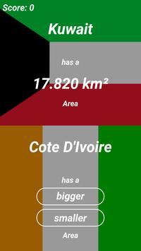 Higher Lower - Geography screenshot 1