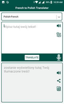 French to Polish Translator screenshot 2