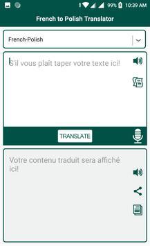 French to Polish Translator screenshot 3