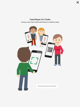 Team Player for Tinder (group) apk screenshot