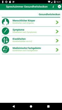 Sprechzimmer App poster