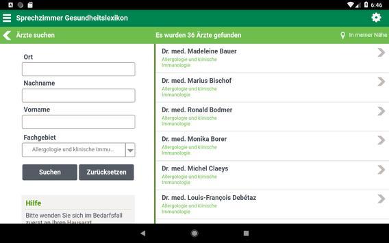 Sprechzimmer App screenshot 11