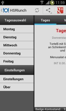 HSRlunch apk screenshot