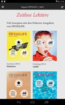 SWISSLIFE Magazin apk screenshot