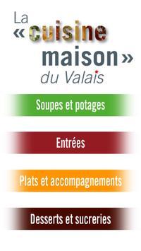 La cuisine maison du Valais poster