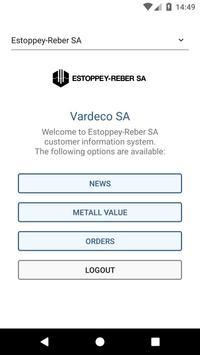 Estoppey-Reber CIS Mobile screenshot 1