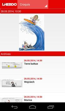 L'Hebdo apk screenshot