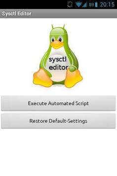 sysctl editor (ROOT) скриншот 3