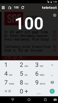 TELETEXT (mobile Website) apk screenshot