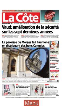 La Côte journal poster