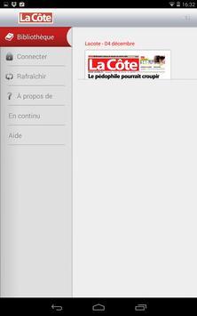 La Côte journal apk screenshot