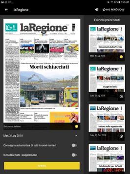 laRegione giornale screenshot 1