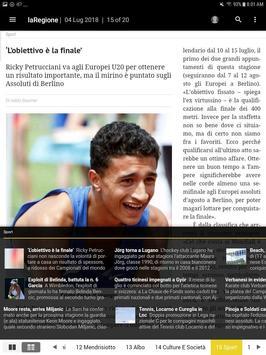 laRegione giornale screenshot 2