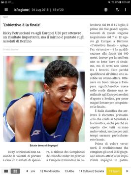 laRegione giornale screenshot 3