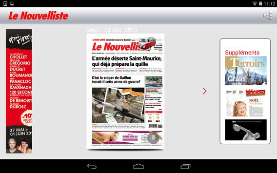 Le Nouvelliste Journal screenshot 12