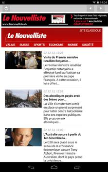 Le Nouvelliste Journal screenshot 14