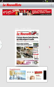 Le Nouvelliste Journal screenshot 1