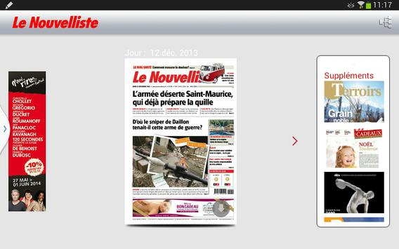 Le Nouvelliste Journal screenshot 2