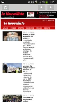 Le Nouvelliste Journal screenshot 4