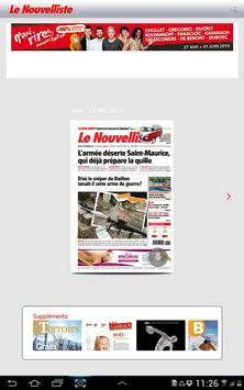 Le Nouvelliste Journal screenshot 6