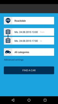 Popcar Car Share screenshot 1