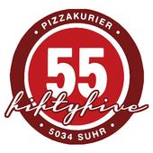 Pizzakurier fiftyfive 55 icon