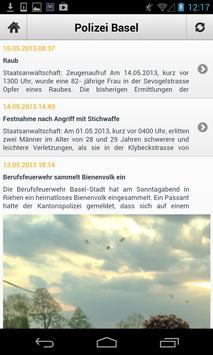Polizei Basel apk screenshot