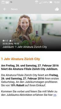Migros Zürich apk screenshot