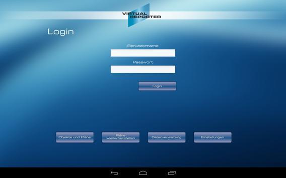 Virtual Reporter apk screenshot