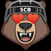Bärmoji-Sticker SC Bern Eishockey - by Westside icon