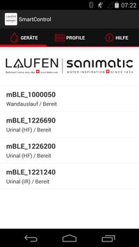 SmartControl LAUFEN&Sanimatic poster