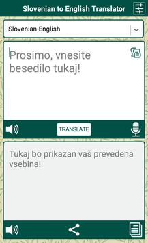 Slovenian English Translator screenshot 3