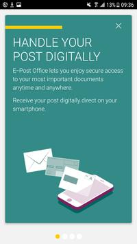 E-Post Office poster