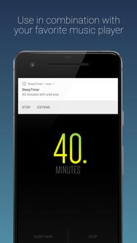 Sleep Timer (Turn music off) screenshot 1