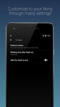 Sleep Timer (Turn music off) screenshot 3