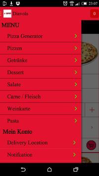 Diavolo Pizza poster