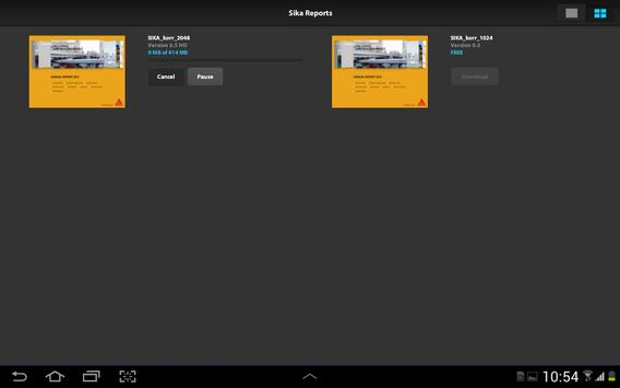 Sika Reports apk screenshot