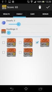 Caverna Scoring Pad apk screenshot