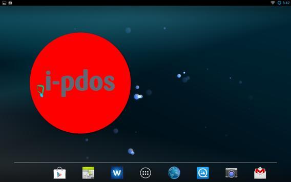 i-pdos Widget Uhr apk screenshot