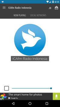 ICAfm Radio Indonesia poster