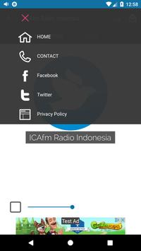 ICAfm Radio Indonesia screenshot 1