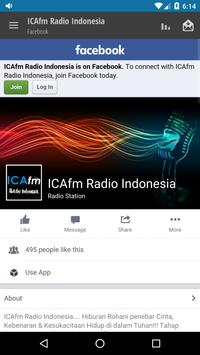 ICAfm Radio Indonesia screenshot 3