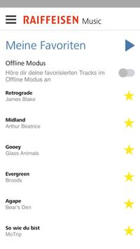 Raiffeisen Music apk screenshot