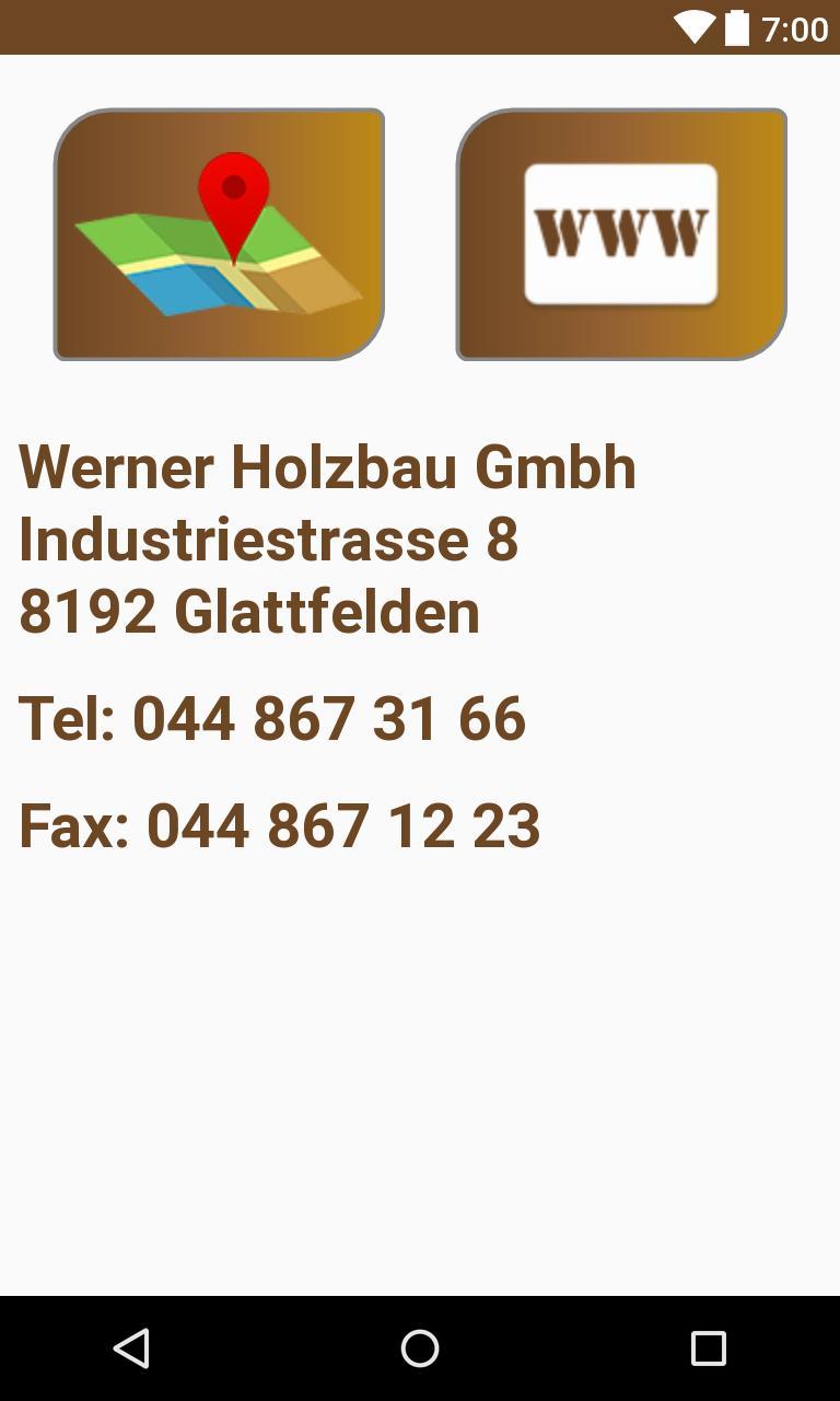 Werner Holzbau Gmbh poster