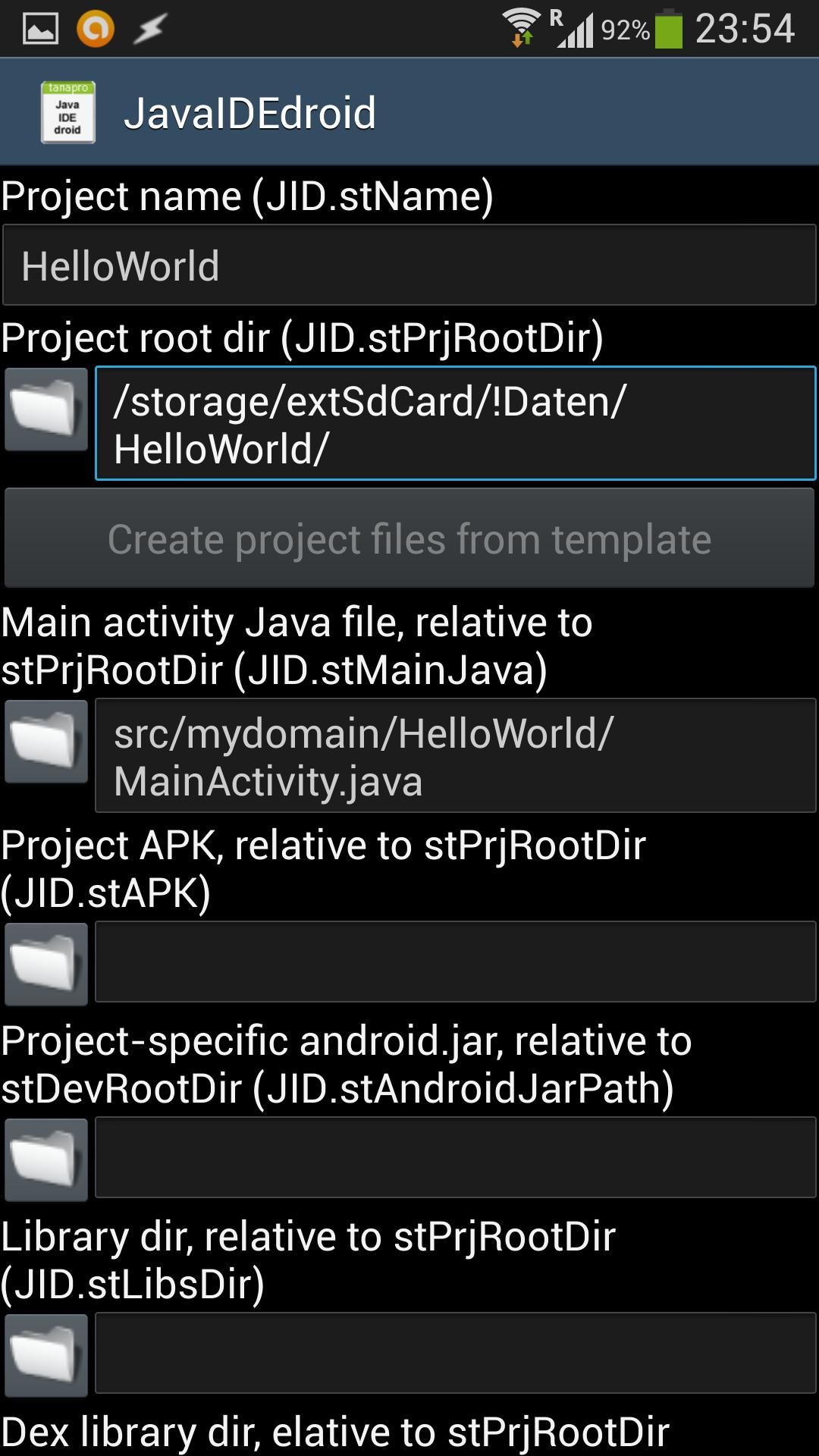 JavaIDEdroid for Android - APK Download