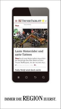 BZ Thuner Tagblatt poster