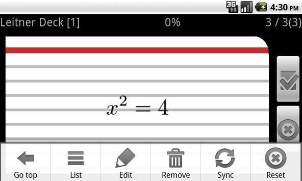 ThmX FlashCard screenshot 3