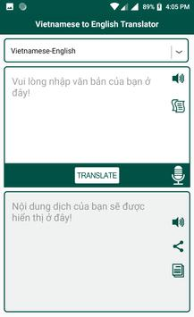 Vietnamese English Translator screenshot 3
