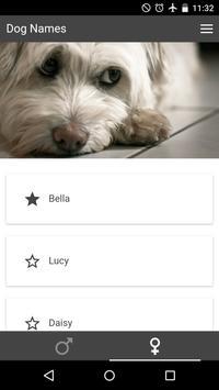 Pet Names - Puppies apk screenshot